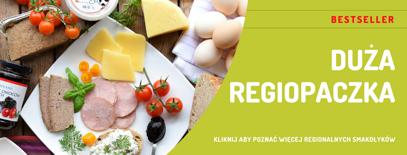 duża regiopaczka z najlepszymi regionalnymi produktami z wrocławia i okolic