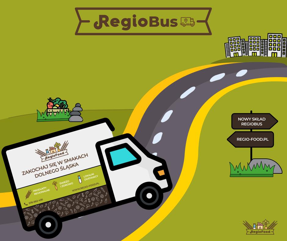 Regiofood w Siechniacach! – czyli nowe przystanki Regiobusa